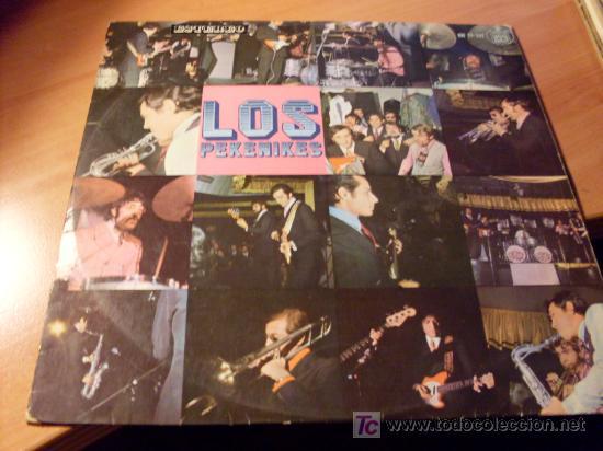 LOS PEKENIKES ( ROBIN HOOD ) HISPAVOX LP ESPAÑA 1967 (Música - Discos - LP Vinilo - Grupos Españoles 50 y 60)