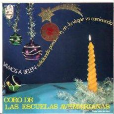 Discos de vinilo: VILLANCICOS CORO ESCUELAS AVEMARIANAS EDITA PHILIPS Y DISTRIBUYE FONOGRAM 1966. Lote 26425591