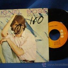 Discos de vinilo: - MIGUEL BOSÉ - TE AMARÉ / DON DIABLO - CBS 1980. Lote 17644356