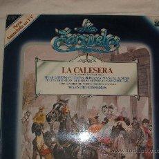 Discos de vinilo: LP ZARZUELA - LA CALESERA . Lote 12641798