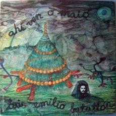 Discos de vinilo: LUIS EMILIO BATALLAN / AHI VEN O MAIO - FOLK PROGRESIVO ( MELLOTRON) MOVIEPLAY 1975 -PORTADA ABIERTA. Lote 148172257