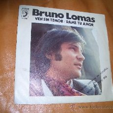Discos de vinilo: BRUNO LOMAS. Lote 12658129