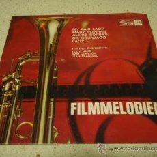 Discos de vinilo: 'FILMMELODIEN' (MY FAIR LADY - MARY POPPINS - ALEXIS SORBAS - DR. SCHIWAGO - LADY L.) EP33. Lote 12676096