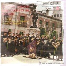 Discos de vinilo: EP TUNA DE PERITOS INDUSTRIALES DE MADRID - LA UVA . Lote 24619451