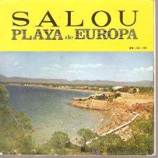 Discos de vinilo: EP SARDANES - COBLA MARAVELLA - SALOU, PLAYA DE EUROPA. Lote 21257049