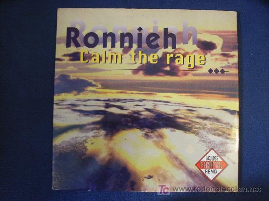 RONNIEH - CALM THE RAGE (3 VERSIONES) / YOU GOT TO THE PIANO - MAXISINGLE - 1996 (Música - Discos de Vinilo - Maxi Singles - Grupos Españoles de los 90 a la actualidad)