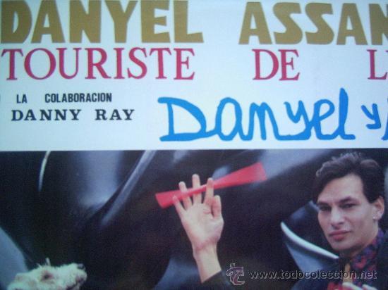 DANYEL ASSANTE,TOURISTE DE LUXE EDICION ESPAÑOLA DEL 90 (Música - Discos - LP Vinilo - Solistas Españoles de los 70 a la actualidad)
