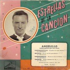 Discos de vinilo: ANGELILLO EP SELLO LA VOZ DE SU AMO AÑO 1958. . Lote 12721462