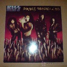 Discos de vinilo: KISS - SMASHES, THRASHES & HITS - RARO LP EDICION COREANA - VINILOVINTAGE. Lote 23518567