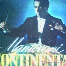 Discos de vinilo: MANTOVANI,CONTINENTAL ENCORES. Lote 12736261