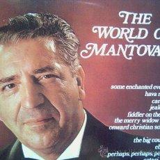 Discos de vinilo: MANTOVANI,THE WORLD OF. Lote 12736337