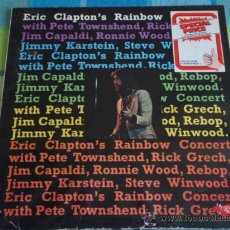 Discos de vinilo: ERIC CLAPTON'S RAINBOW CONCERT 1973 - GERMANY LP33 POLYDOR. Lote 12736813