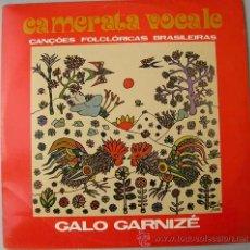 Discos de vinilo: CANCIONES FOLKLORICAS BRASILEÑAS - CAMERATA VOCALE. Lote 12746970