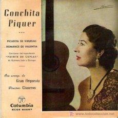 Discos de vinilo: CONCHITA PIQUER - PICADITA DE VIRUELAS *** COLUMBIA 1962. Lote 15315191