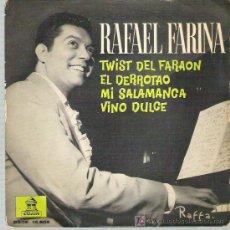 Discos de vinilo: RAFAEL FARINA - TWIST DEL FARAON **** EP ODEON 1962. Lote 12752350