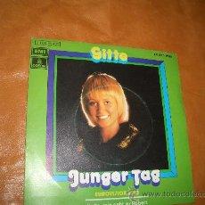 Discos de vinilo: GITTE- FESTIVAL EUROVISION 1973.. Lote 12764013