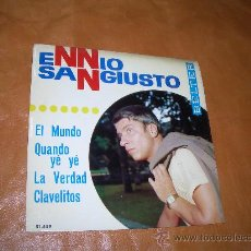 Discos de vinilo: ENNIO SANGIUSTO. Lote 12764249