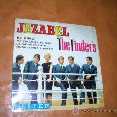 Discos de vinilo: JEZABEL CON THE FINDERS. Lote 12764340