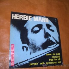 Discos de vinilo: HERBIE MANN- BELTER-. Lote 12764446
