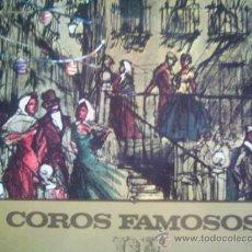 Discos de vinilo: COROS FAMOSOS DE ZARZUELA VARIOS. Lote 12774348