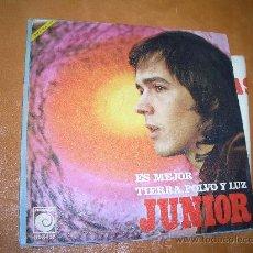 Discos de vinilo: JUNIOR- CON DEIDCATORIA FIRMADA-. Lote 16021022