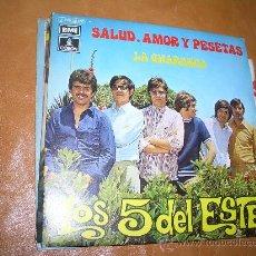 Discos de vinilo: LOS 5 DEL ESTE. Lote 16021030