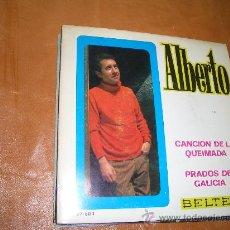 Discos de vinilo: ALBERTO -BELTER-. Lote 16021052