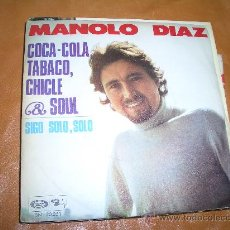 Discos de vinilo: MANOLO DIAZ. Lote 15803431