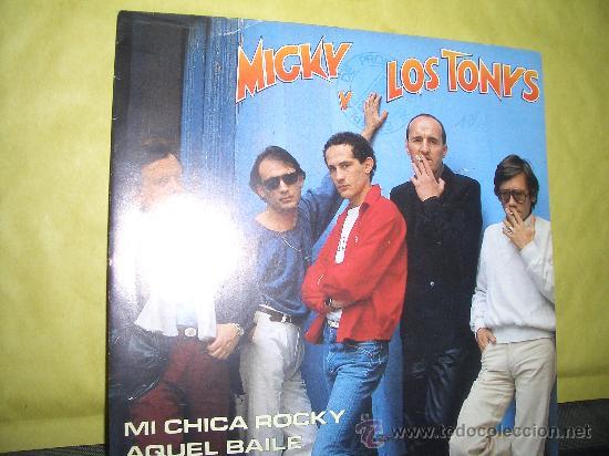 MICKY Y LOS TONYS (Música - Discos - Singles Vinilo - Solistas Españoles de los 50 y 60)