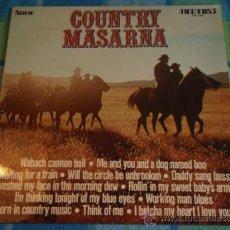 Discos de vinilo: COUNTRY MASARNA 1975 LP33 MOONDISC. Lote 12794749