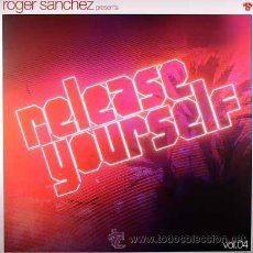 Discos de vinilo: ROGER SANCHEZ * 3 LP * RELEASE YOURSELF VOL.4 PRECINTADO!!!. Lote 34622304
