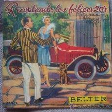 Discos de vinilo: EP BELTER 50'S - CHARLESTON ALL STARS. Lote 26533068