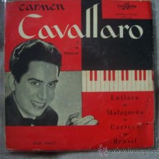Discos de vinilo: CARMEN CAVALLARO - COLUMBIA 70037. Lote 12819747