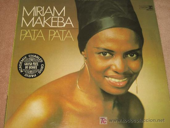 MIRIAM MAKEBA - PATA PATA - ORIGINAL GERMANY
