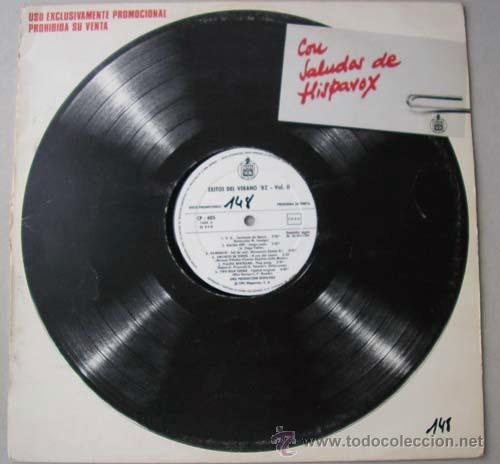 EXITOS DEL VERANO 82 - LP VARIOS ARTISTAS (Música - Discos - LP Vinilo - Grupos Españoles de los 70 y 80)