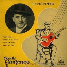 Discos de vinilo: PEPE PINTO. Lote 26560989