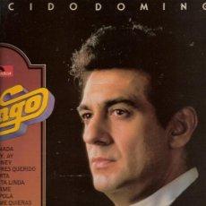 Discos de vinilo: 70) DISCO L.P. DE VINILO DE PLÁCIDO DOMINGO, BRAVO DOMINGO: GRANADA, AY, AY, AY, SIBONEY, MI BUENOS . Lote 25256245
