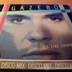 Discos de vinilo: GAZEBO ( I LIKE CHOPIN ) MAXI - SINGLE 45 RPM 1983 ITALIA. Lote 12872741