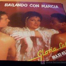 Discos de vinilo: GLORIA LASSO ( BAILANDO CON MARCIA ) MAXI - SINGLE 45 RPM CARRERE FRANCIA ( EX / EX ) ( MUY RARO ). Lote 27525174