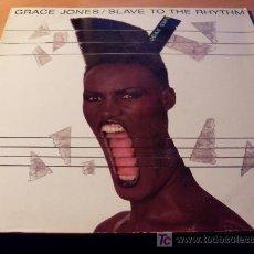 Discos de vinilo: GRACE JONES ( SLAVE TO THE RHYTHM ) LP FRANCIA. Lote 277065348