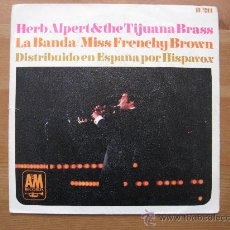 Discos de vinilo: HERB ALPERT Y TIJUANA BRASS, LA BANDA, ETC. Lote 12858821