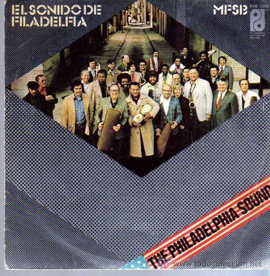 SINGLE - THE PHILADELPHIA SOUND /EL SONIDO PHILADELPHIA (Música - Discos - Singles Vinilo - Funk, Soul y Black Music)