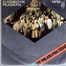 Discos de vinilo: SINGLE - THE PHILADELPHIA SOUND /EL SONIDO PHILADELPHIA. Lote 12859047