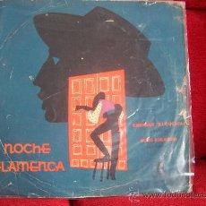 Discos de vinilo: NOCHE FLAMENCA -ENRIQUE EL CULATA CON NIÑO RICARDO. Lote 17819660