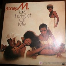 Discos de vinilo: LP - BONEY M - TAKE THE HEAT OFF ME. Lote 12873173