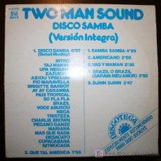 Discos de vinilo: LP - TWO MAN SOUND - DISCO SAMBA. Lote 12873187