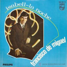 Discos de vinilo: FRANCISCO DE MIGUEL SINGLE SELLO PHILIPS AÑO 1967. Lote 12884854