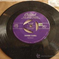 Vinyl records - STAN KENTON & HIS ORCHESTRA (SOUTHERN SCANDAL - MINOR RIFF) USA SINGLE45 CAPITOL - 12887085
