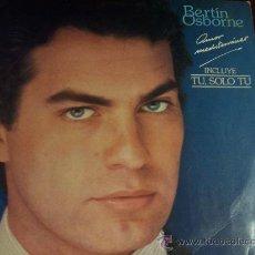 Discos de vinilo: BERTIN OSBORNE - AMOR MEDITERRANEO. Lote 12903630