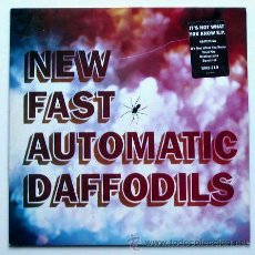 Discos de vinilo: NEW FAST AUTOMATIC DAFFODILS - IT'S NOT WHAT YOU KNOW / HEAD ON / BEATLEMANIA... MAXISINGLE 45 RPM). Lote 26950701